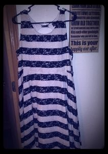 Ivory and black lace dress from Lane Bryant sz 18